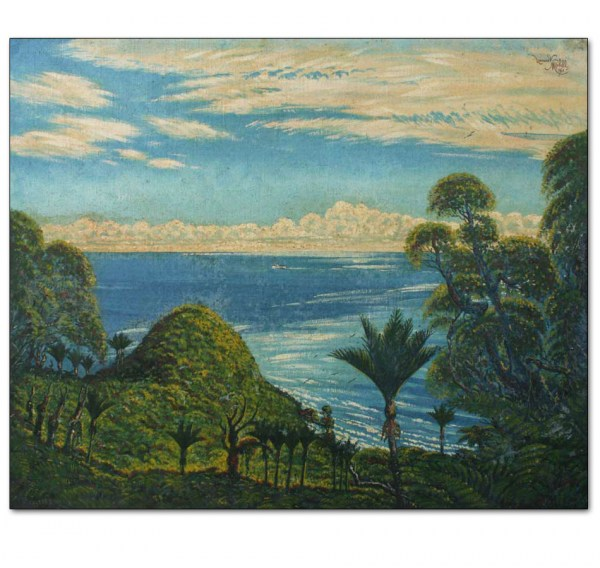 Bay of Islands Seascape with Nikaus