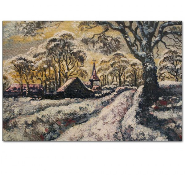 Detail - Snow Outside Coggeshall