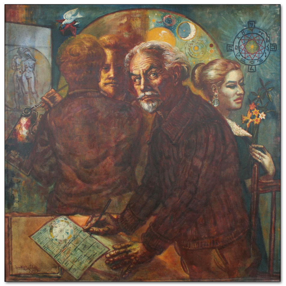 The Astrologer, Self Portrait with Pat and James Chapman-Taylor