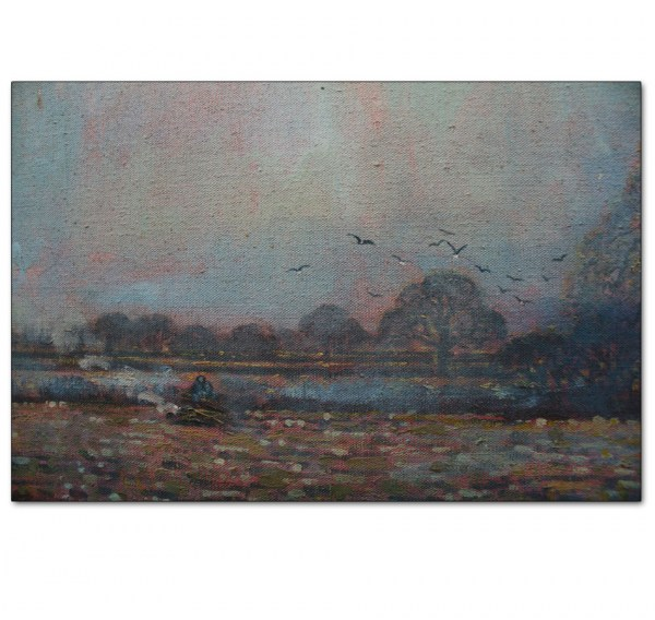 Detail - November Landscape, Coggeshall, Essex